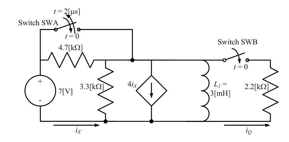Solved: 3) In The Circuit Shown Below, The Two Switches We