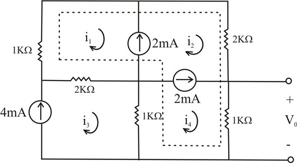 Solved: Find Vo in the circuit in Fig. P3.60 .Figure P3.60