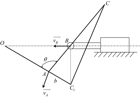 Solved: The mechanism of Prob. 5/55 is repeated here. By