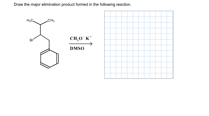 Solved: Draw The Major Elimination Product Formed In The F