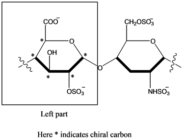 Solved: How many chiral carbon atoms are there in each of
