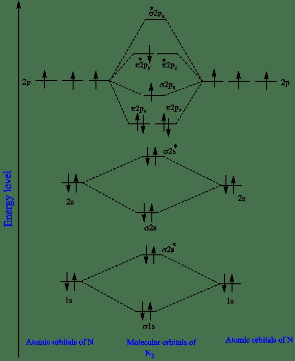 N2+ Molecular Orbital Diagram : molecular, orbital, diagram, Solved:, Write, Electron, Configuration, First, Excited, Chegg.com