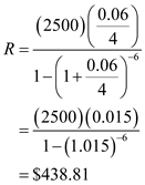Solved: Find (a) the payment necessary to amortize the