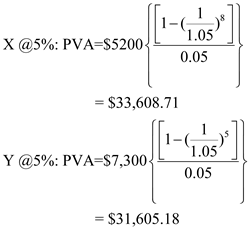 Solved: Present Value and Multiple Cash Flows [LO1