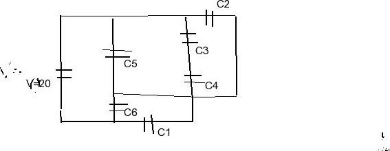 Solved: The Capacitors Shown Have Values Of C1=6.00 μF, C2
