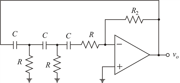 Solved: Analyze the phase-shift oscillator in Figure 15.16