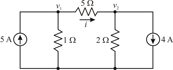 Solved: In the circuit of Fig. 4.34, determine the current