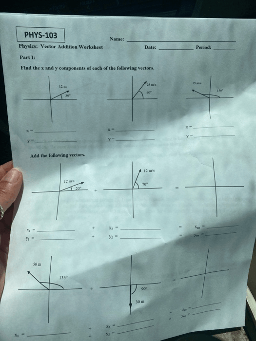 Vector Addition Worksheet Answer Key : vector, addition, worksheet, answer, Solved:, PHYS-103, Name:, Physics:, Vector, Addition, Worksheet, Chegg.com