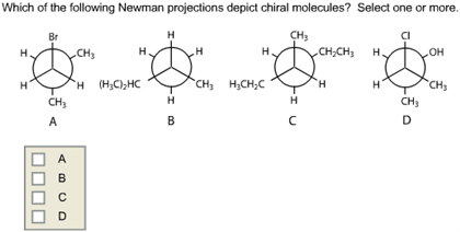 Solved: Which Of The Following Newman Projections Depict C