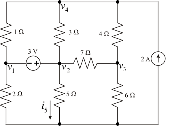 Solved: The circuit of Fig. 4.76 is modified such that the