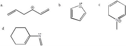 Which Of The Following Compounds Have Delocalized