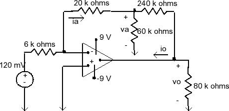Solved: The Op Amp In The Circuit Is Ideal.Calculate The F
