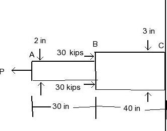 Solved: Two Solid Cylindrical Rods AB And BC Are Welded To