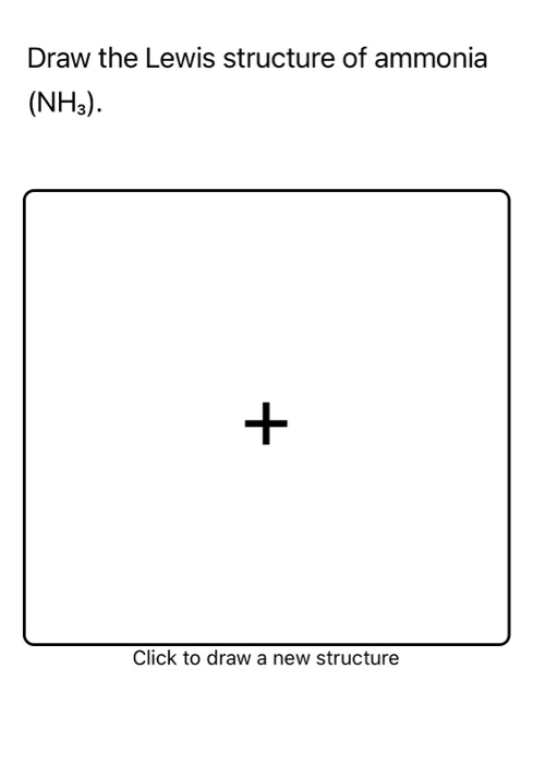 Draw The Lewis Structure For Nh3 : lewis, structure, Solved:, Which, Following, Example, Cova..., Chegg.com