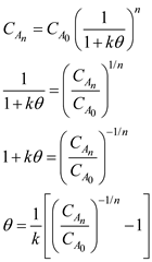 Solved: Three CSTRs of equal volume are to be used in