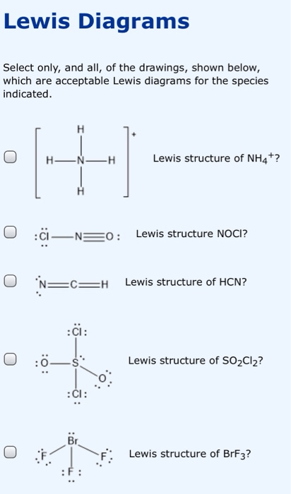 Brf3 Lewis Structure : lewis, structure, Solved:, Lewis, Diagrams, Select, Only,, Drawin..., Chegg.com