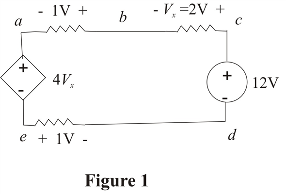 Solved: Find Vad and Vce in the circuit in Fig. P2.25