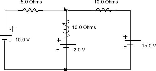 Solved: Determine The Voltage Across The 5 Ohm Resistor