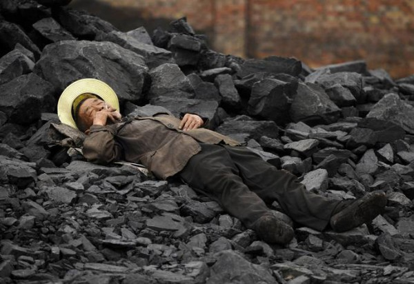 More than half of China's coalmines are struggling to pay wages.