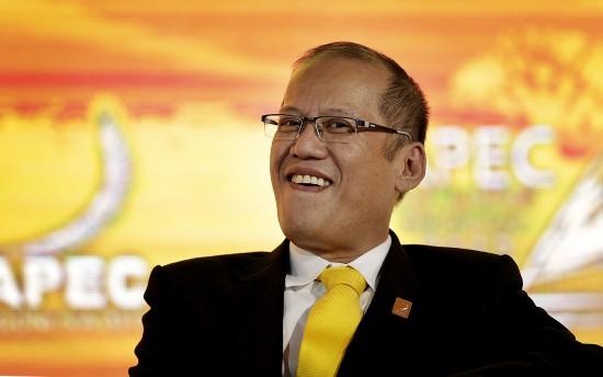 菲律賓總統阿基諾在APEC會議