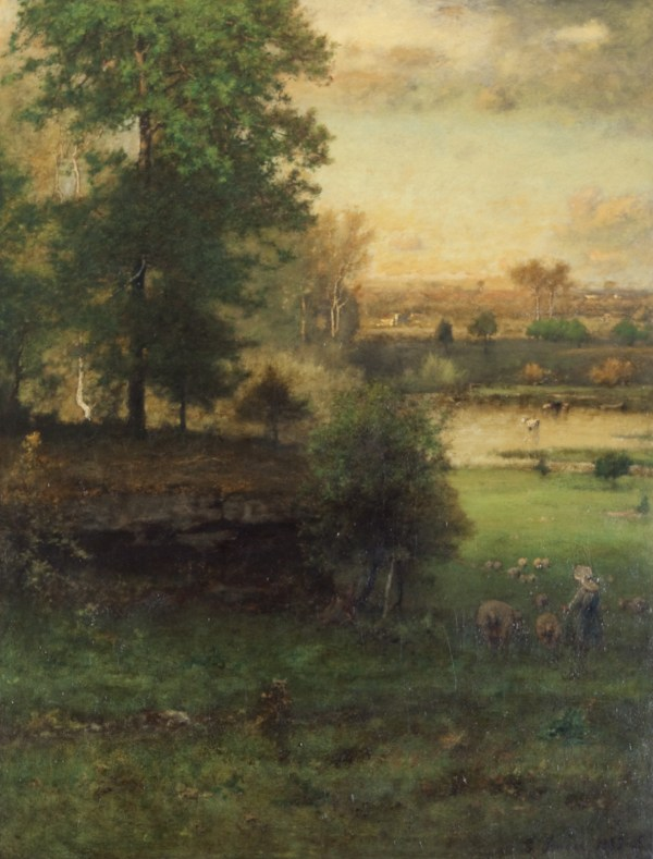 George Inness Paintings at the Clark