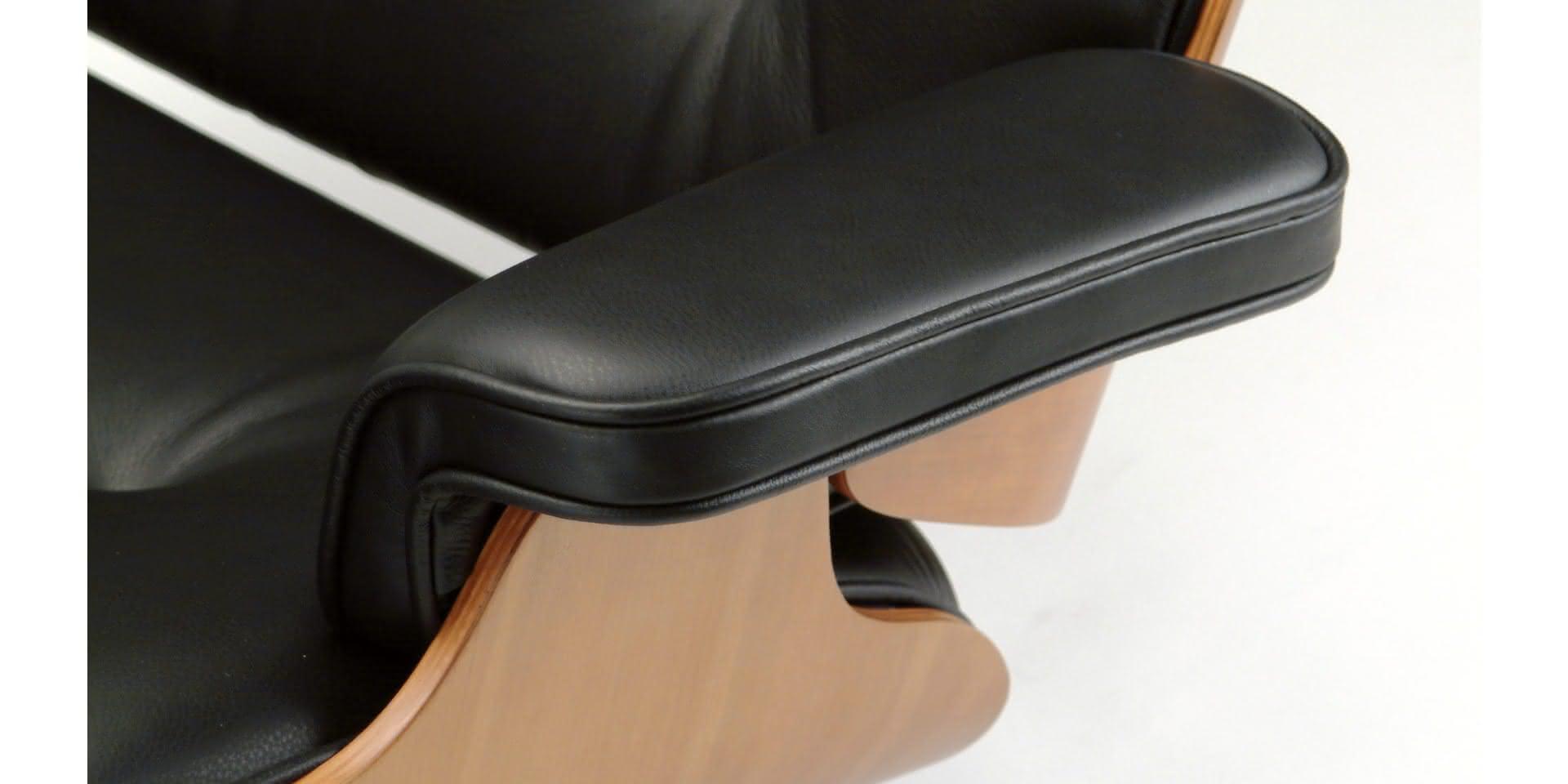 eames 2 seat sofa replica sofas in sri lanka damro lounge chair chaise longue avec revêtement en cuir