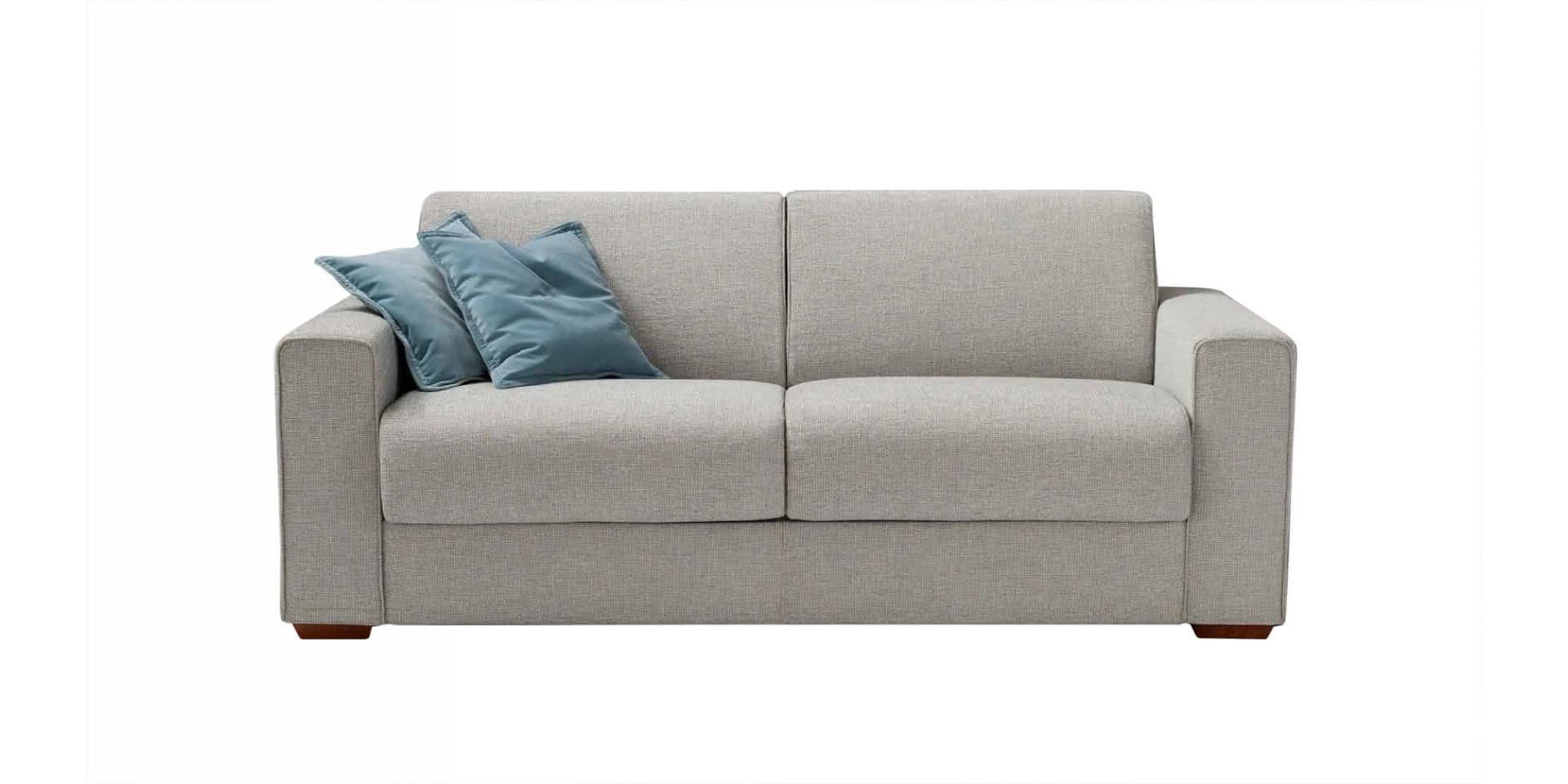 dalton sofa bed leather modern sets piu design by musa