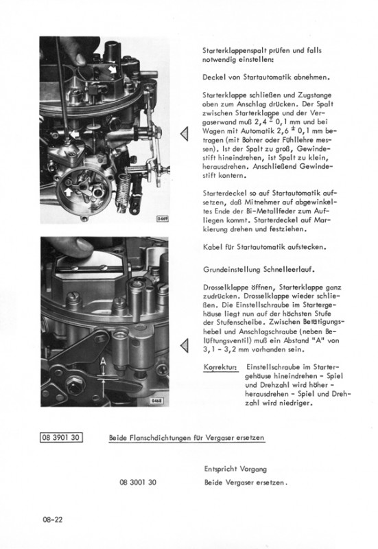 Opel Commodore A Coupé Limousine GS GS/E Repair manual