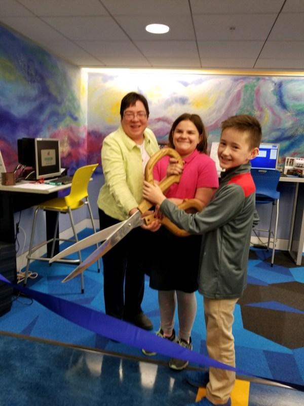 Stem Middle School Students Design 'tween Space' Akron