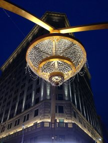 Playhouse Square' Chandelier Succeeds Instant Icon