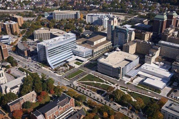 University Hospitals Cleveland Campus Map