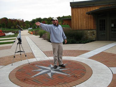 Zurcher story, See The Stars in Geauga County to be published Saturday, November 24, 2012 Chris Mentrek, Naturalist at the Geauga Parks New Observat.JPG