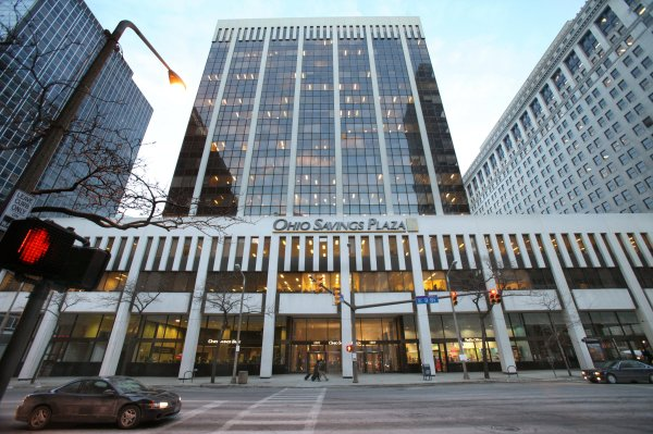 Amtrust Bank Headquarters In Downtown Cleveland Put