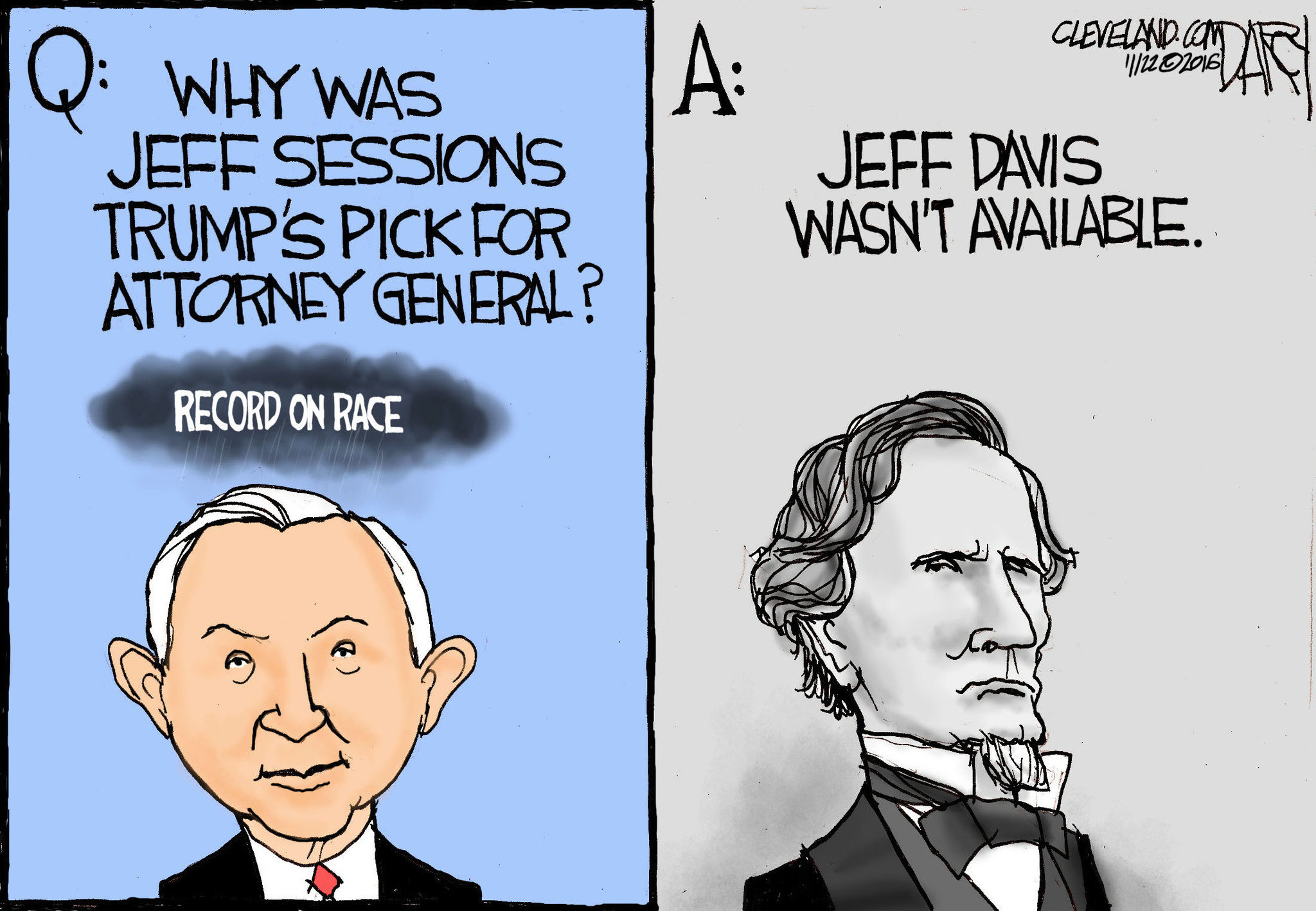 Image result for cartoons of jeff sessions