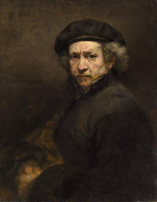 Self Portrait Rembrandt 1659