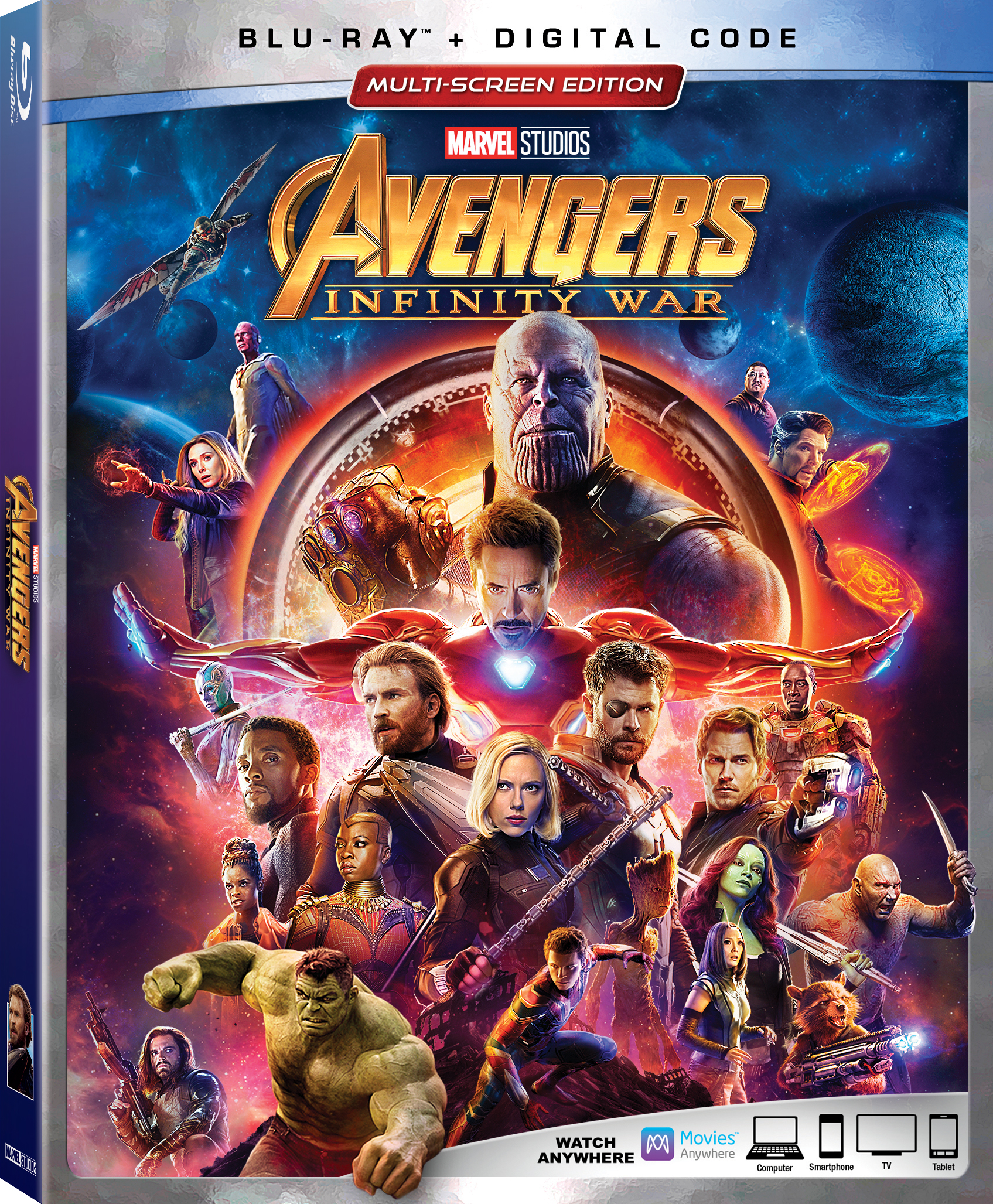 Image result for avengers infinity war dvd