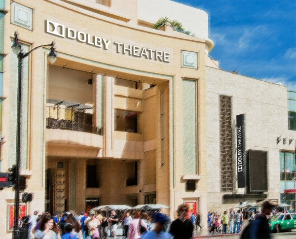 Oscars Venue Reopens Dolby Theatre