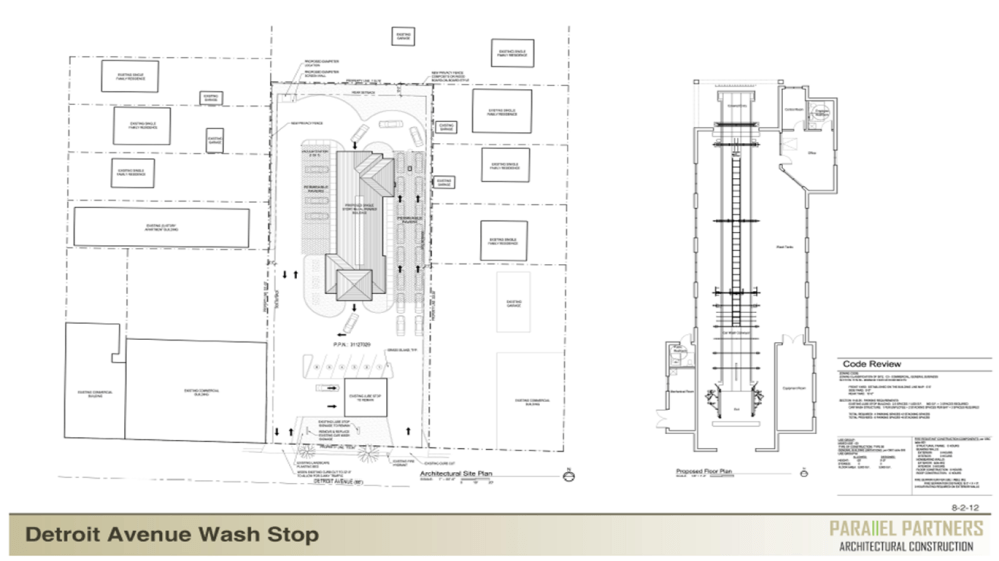 medium resolution of view full sizethe new wash stop car wash will be located directly behind lube stop on detroit avenue
