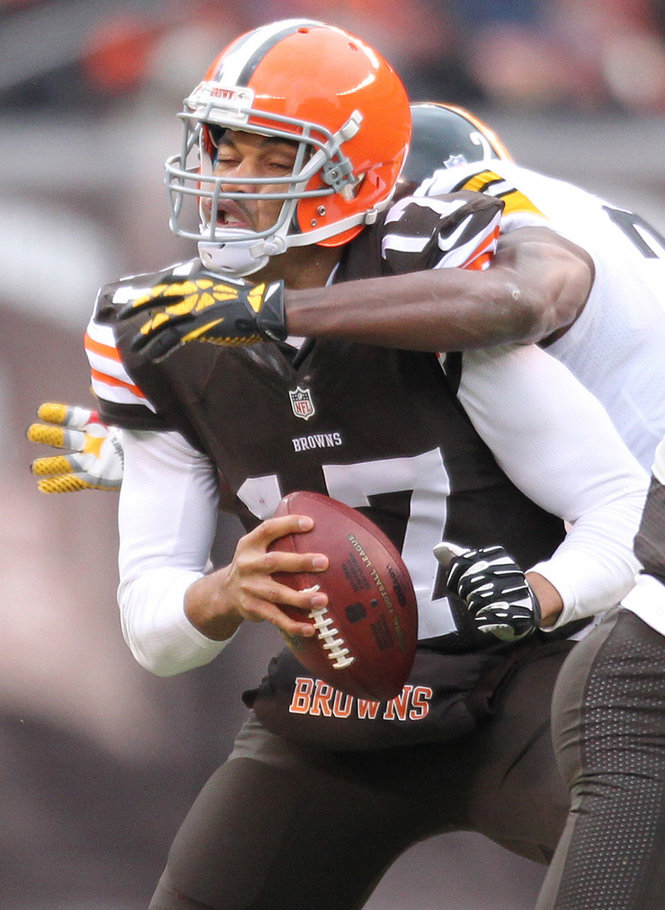 Cleveland Browns, 11, Pittsburgh Steelers, 27