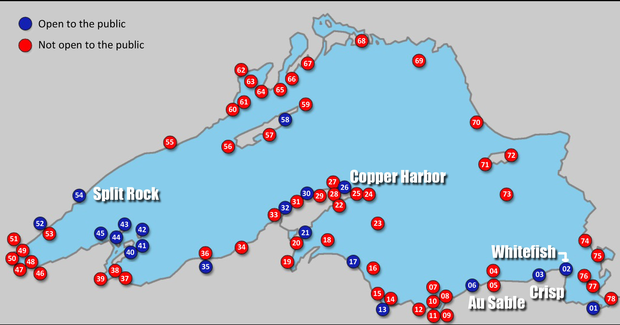 The Gallery For Gt Lake Superior On World Map