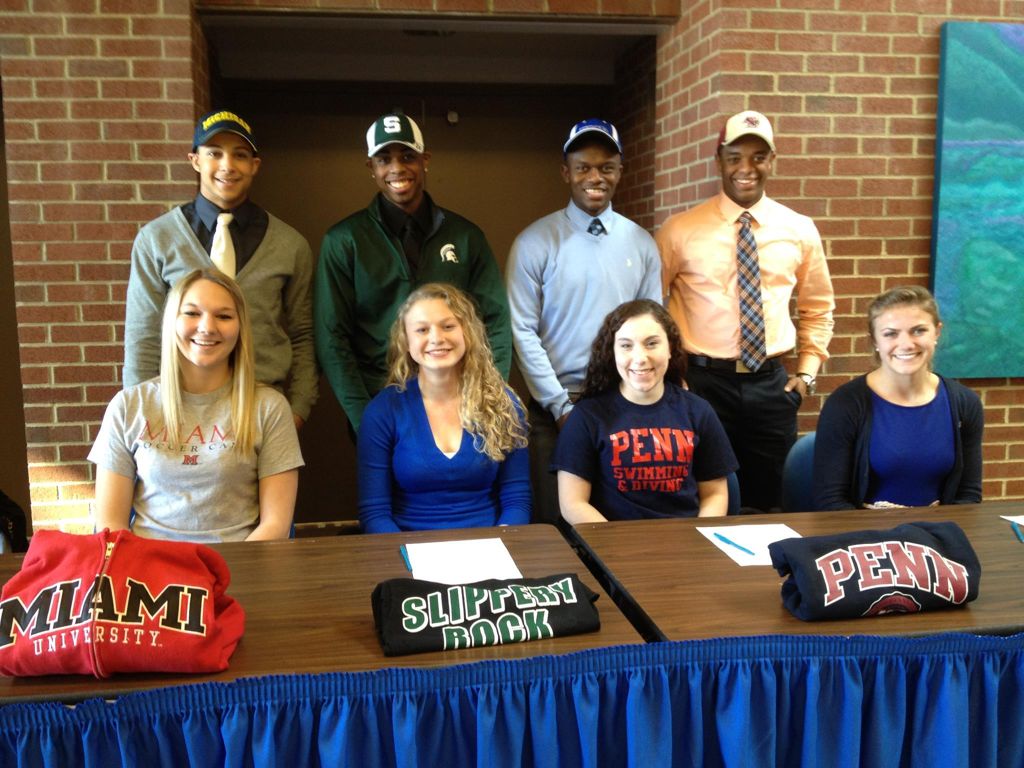 Eight Solon High School Seniors Sign National Letters Of Intent