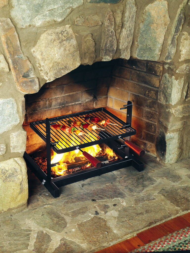 PreLenten treats indoor fireplace grill cookbook to lighten you up Gadgets Gear  Grub