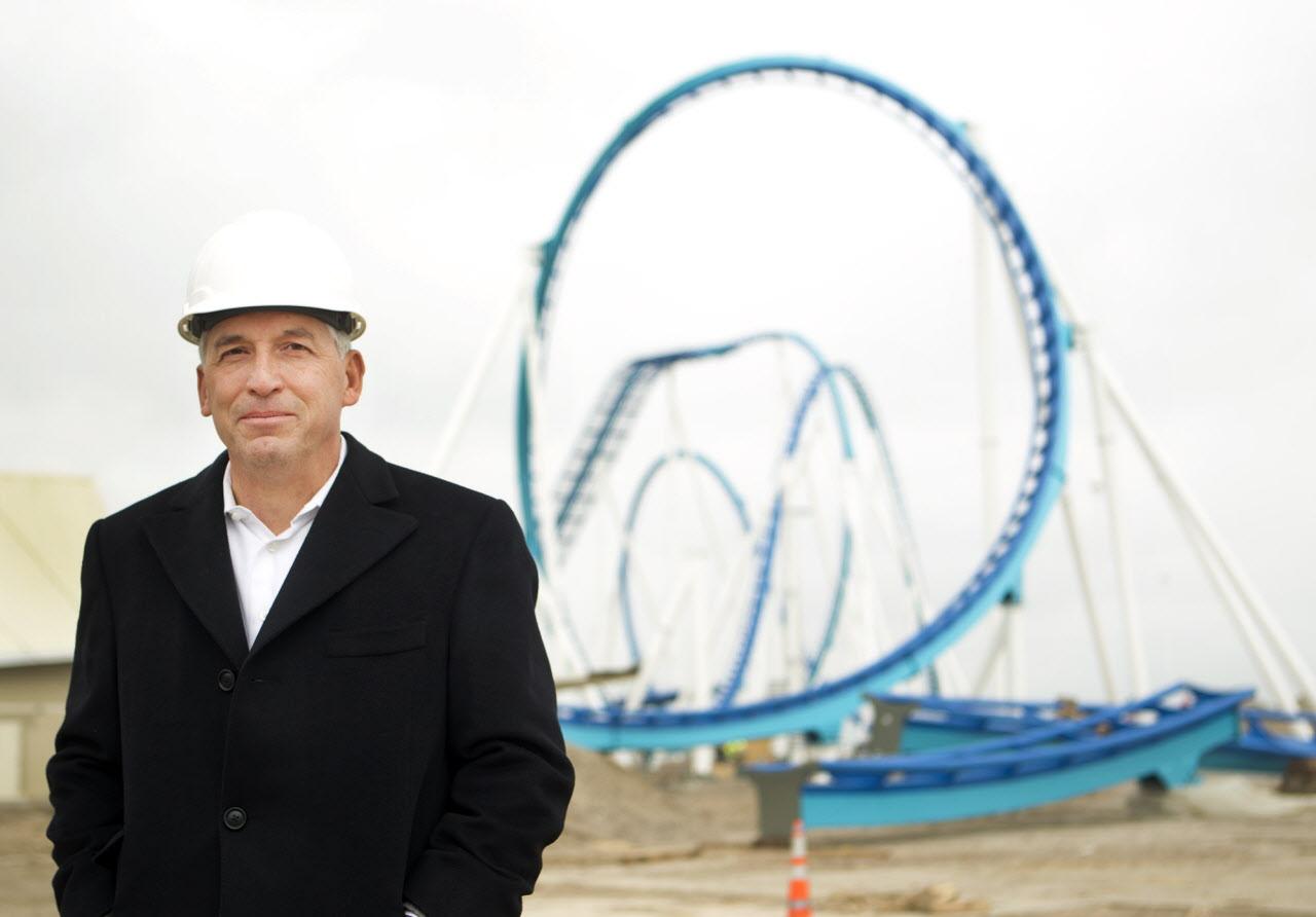 Cedar Fair CEO Matt Ouimet a reluctant activist has