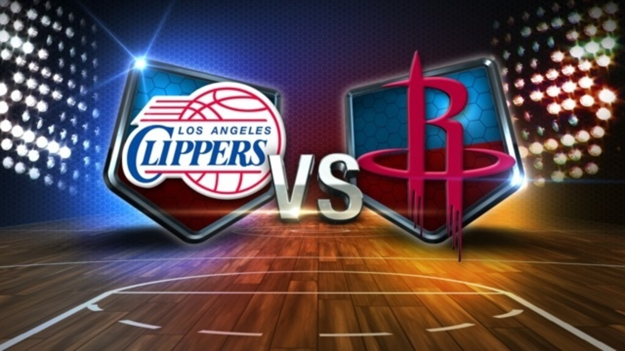Houston Rockets vs Los Angeles Clippers NBA Playoffs