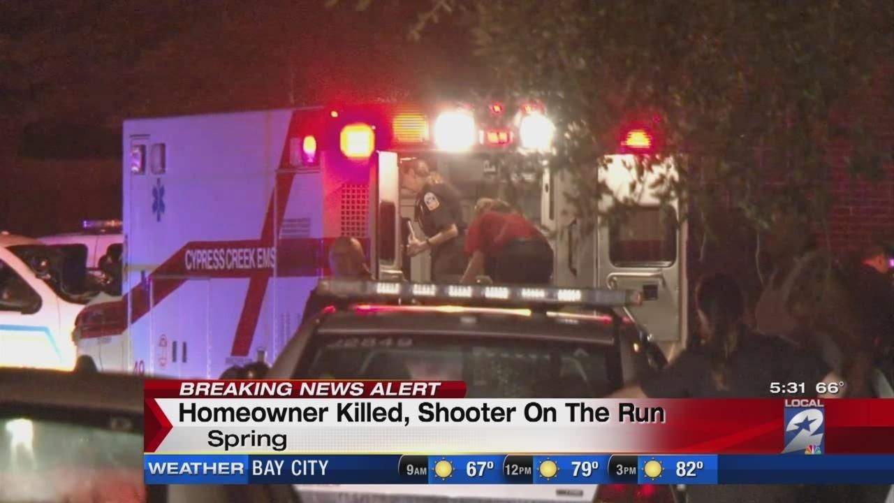 Man shot killed during home invasion in Spring