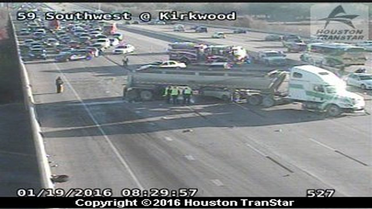 Traffic Update Highway 59 Southbound At S Kirkwood
