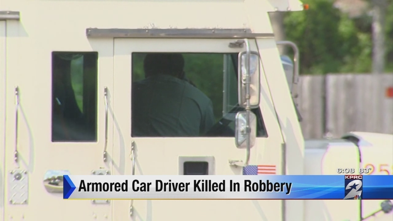 Armoredcar driver killed at ATM in north Houston