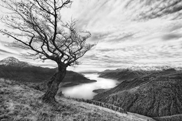 Alberto Bianchi The Valley tales  foto di paesaggio in bianco e nero