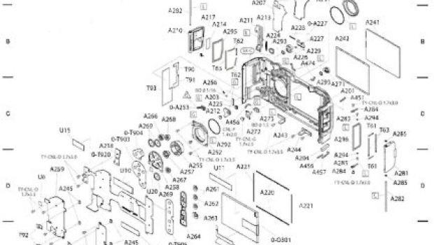 Pentax K20D, lo schema tecnico