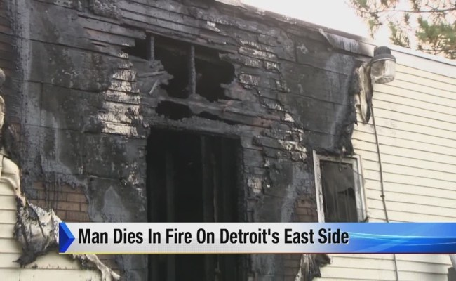 Man Killed In House Fire On Detroit S East Side